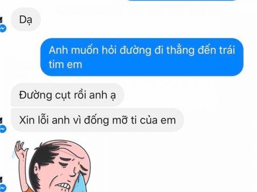 Cười sặc với những tin nhắn bá đạo của các cặp đôi đang yêu