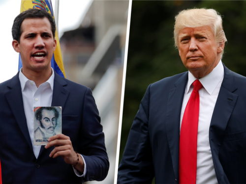 Mỹ và nhiều quốc gia tuyên bố ủng hộ lãnh đạo đối lập là tân Tổng thống Venezuela