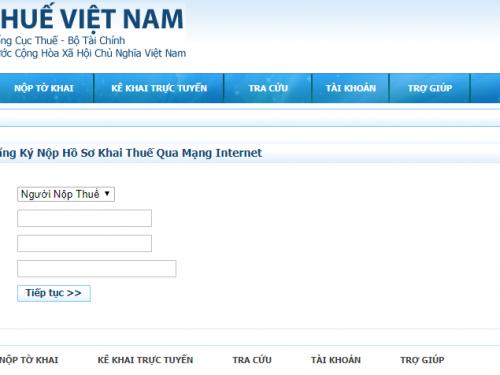 Nhantokhai gdt.gov.vn – Đăng nhập & đăng ký tài khoản Tổng cục thuế