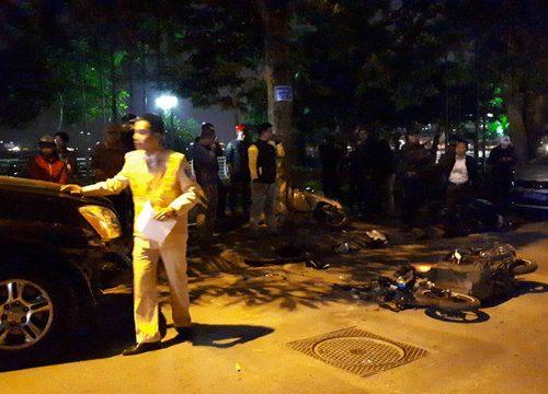 Vụ xe Lexus đâm liên hoàn 9 xe tại Hà Nội:  Nữ tài xế có nồng độ cồn trong người