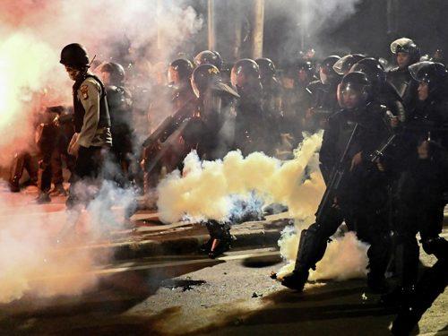 Indonesia: Biểu tình hậu bầu cử Tổng thống, ít nhất hơn 200 người thương vong