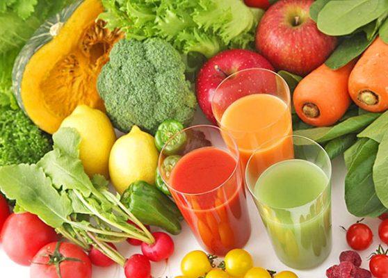 Đảm bảo thực đơn hàng ngày chứa nhiều rau xanh và trái cây1