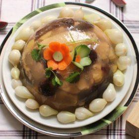 Cách làm món thịt gà nấu đông ngon chuẩn vị miền Bắc