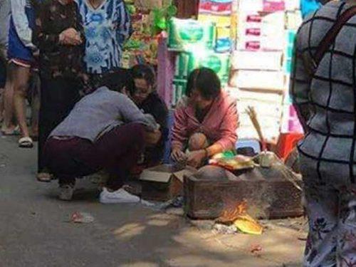 Thi thể bé sơ sinh được phát hiện trong thùng rác giữa phố Hà Nội