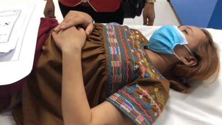 Cô gái được giải cứu sau những ngày bị bạn trai giam lỏng đánh đập tra tấn1