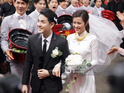 Lễ rước dâu trong đám cưới cổ tích của Đông Nhi – Ông Cao Thắng
