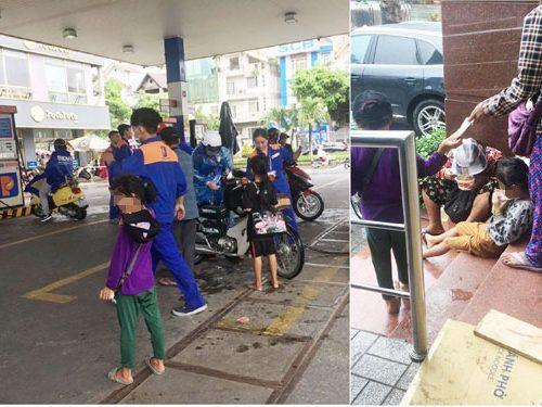 Ngỡ ngàng cảnh chăn dắt trẻ em công khai giữa phố