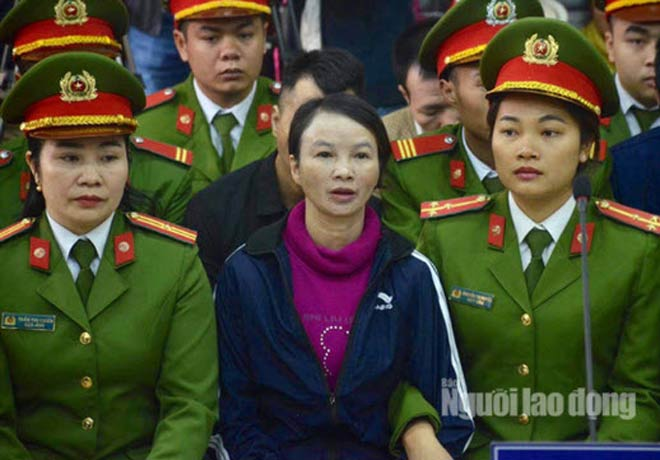 Bị cáo Trần Thị Hiền - Mẹ nữ sinh giao gà bị sát hại trong dịp Tết nguyên đán Kỷ Hợi1
