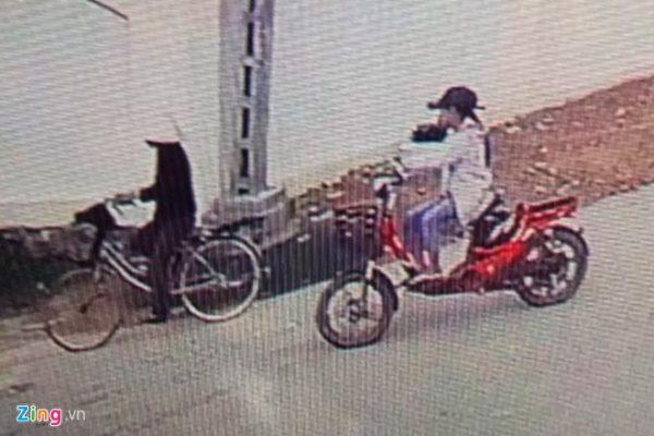 Camera ghi hình thấy người cuối cùng gặp cháu Tâm là Bà Hường1