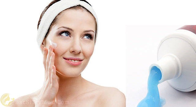 Kem đánh răng là cách trị mụn cám hiệu quả chỉ sau 1 đêm1