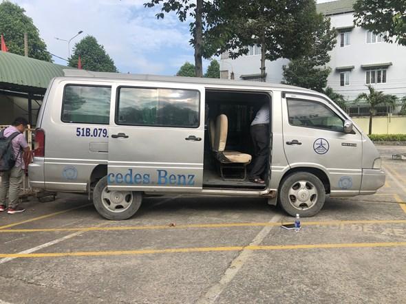 Thắt chặt công tác kiểm tra và xử lý các xe đưa đón học sinh trong địa bàn1