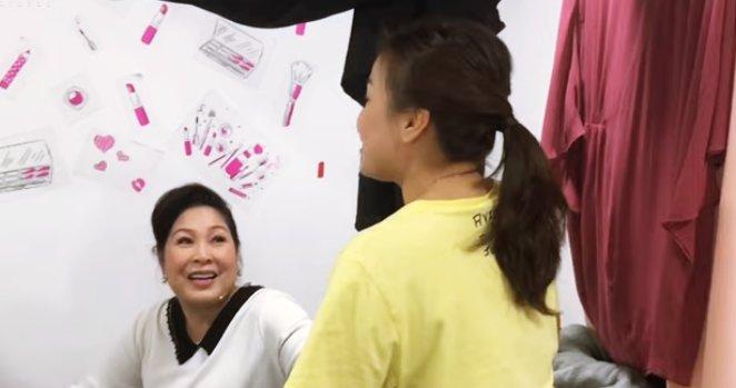 Quỳnh Trần chia sẻ niềm vui và sự xúc động khi được gặp NSND Hồng Vân1