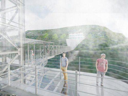 Cầu kính Rồng Mây Sa Pa chính thức đi vào hoạt động