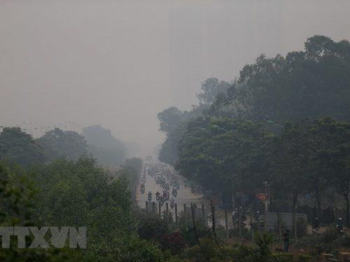 Ô nhiễm không khí báo động chưa từng thấy ở Hà Nội