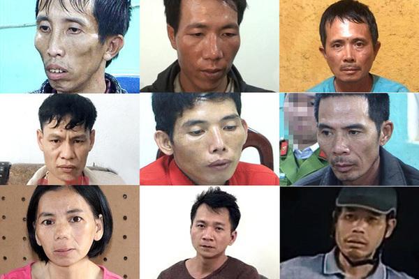 9 bị can liên quan đến vụ việc bắt cóc, hiếp dâm và sát hại nữ sinh giao gà1