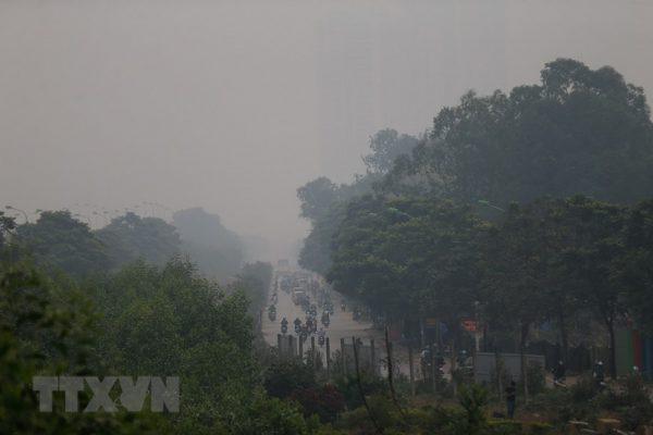 Ô nhiễm không khí ở mức nguy hại tới sức khỏe của con người1