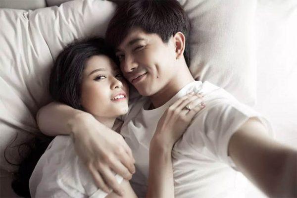 Tim và Trương Quỳnh Anh - một trong những cặp đôi ồn ào nhất Showbiz Việt1