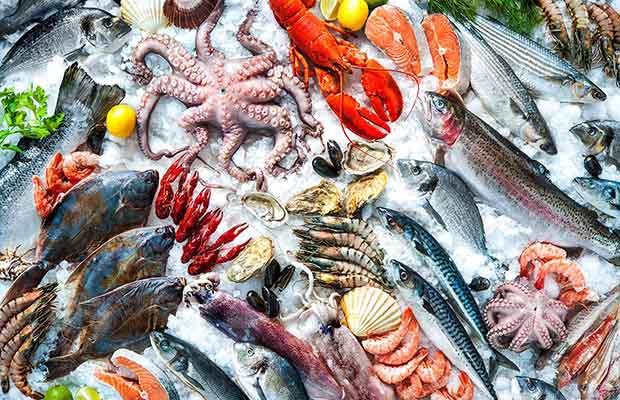 Sau nặn mụn ăn các loại hải sản sẽ khiến vết thương ngứa ngáy, lở loét1