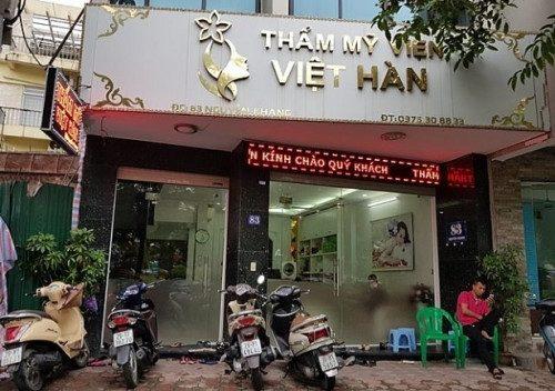 Thẩm mỹ viện Việt Hàn – Nghi người đàn ông chết do hút mỡ bụng