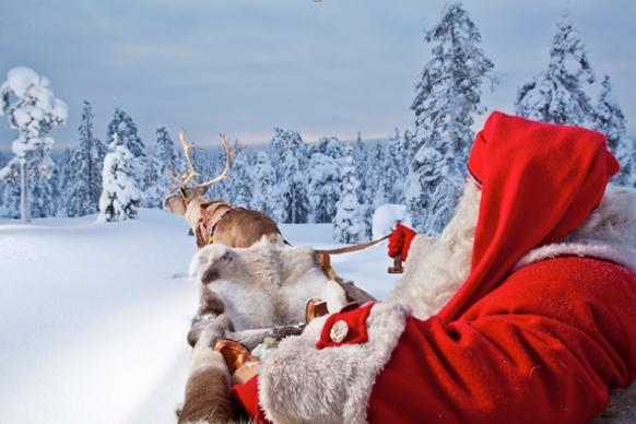 Truyền thuyết cho rằng ông già Noel sống tại Bắc Cực1