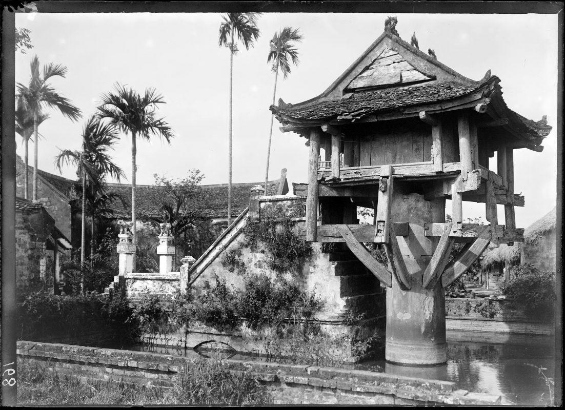 Hình ảnh Chùa Một Cột năm 18981