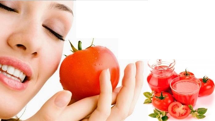Cà chua không chỉ giúp da trắng mịn mà còn là cách trị mụn ở trán an toàn hiệu quả1