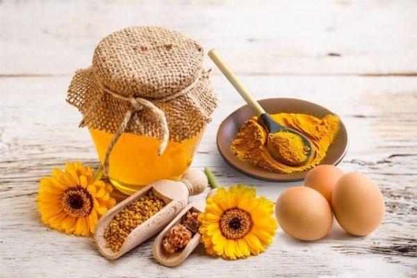 Mặt nạ mật ong nghệ giúp cải thiện vết thâm, sẹo do mụn để lại, ngừa mụn phát triển1