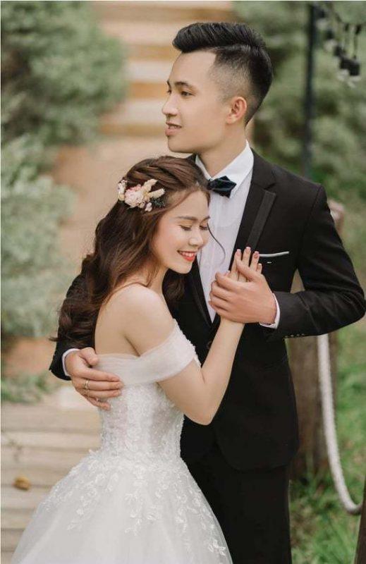 Hình ảnh xinh đẹp của cô dâu Khánh Hà1