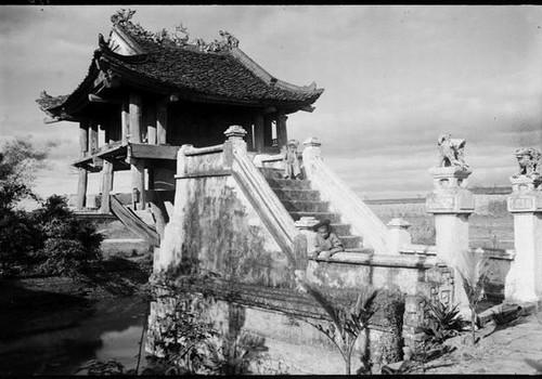 Hình ảnh chùa Một Cột năm 19861