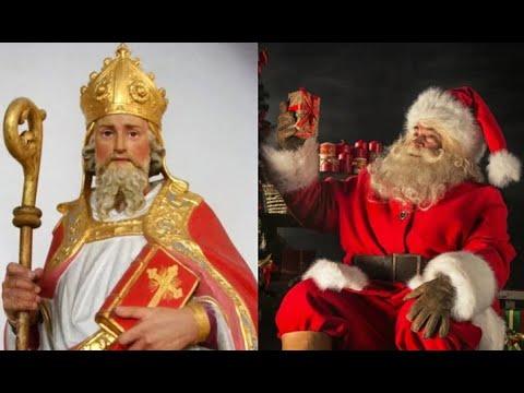 Santa Claus bắt nguồn từ câu chuyện về Đức Giám mục Saint Nicholas.ở thế kỷ 41