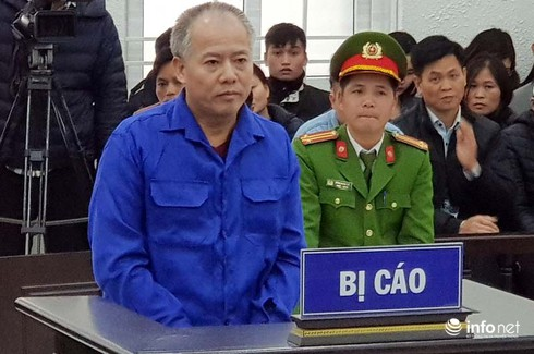 TAND TP Hà Nội tuyên án tử hình với bị cáo Nguyễn Văn Đông1