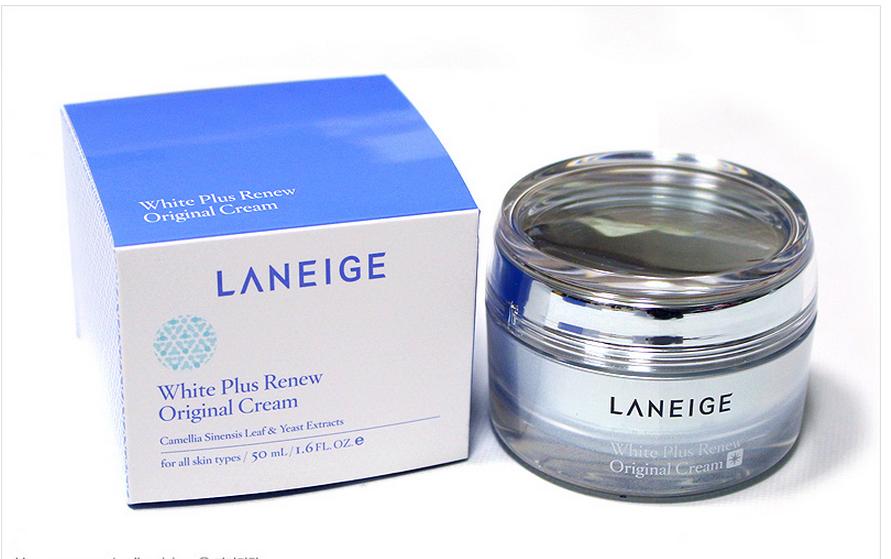 Kem dưỡng trắng da Laneige White Plusgiúp tăng vẻ rạng ngời cho làn da của bạn.1