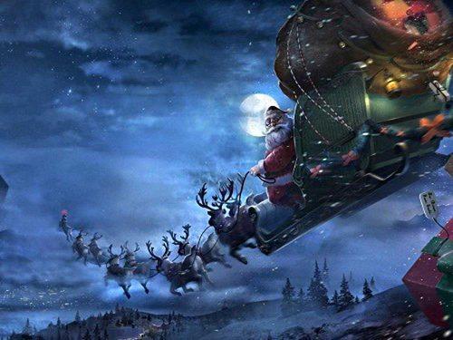 Giải đáp thắc mắc về ông già Noel xuất hiện trong mùa Giáng Sinh