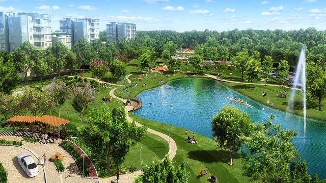 Khu đô thị Ecopark có nhiều hoạt động vui chơi, dã ngoại, cắm trại1