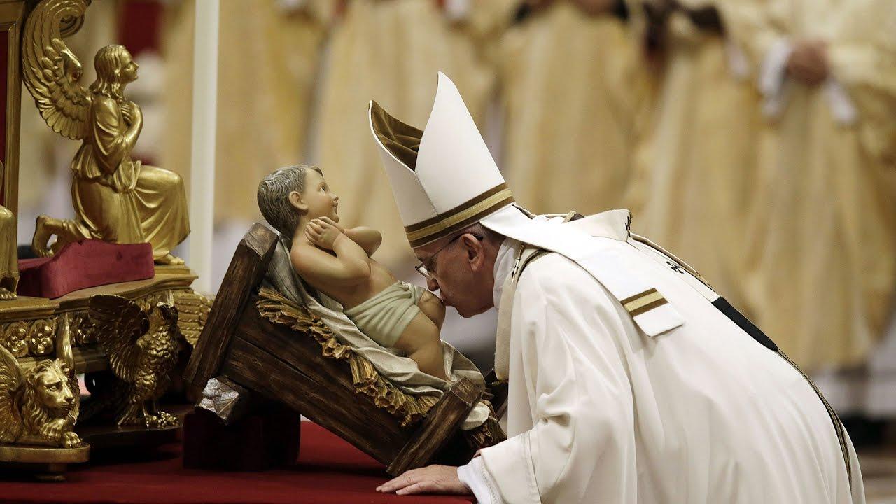 Thánh lễ đêm Vọng Giáng Sinh ngày 24/12 tại Vatican1