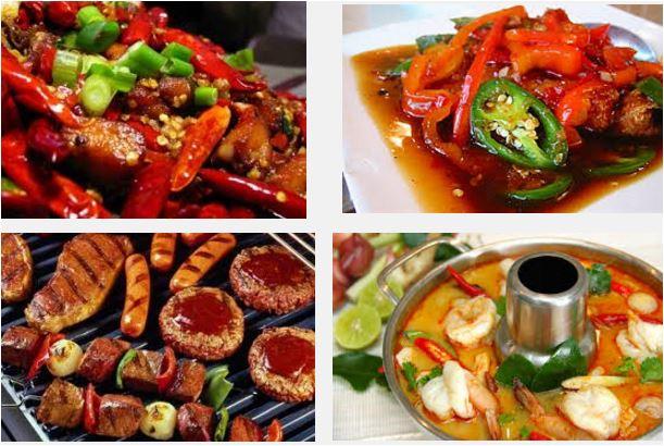 Đồ ăn cay nóng cũng là nguyên nhân gây mụn đầu đen1