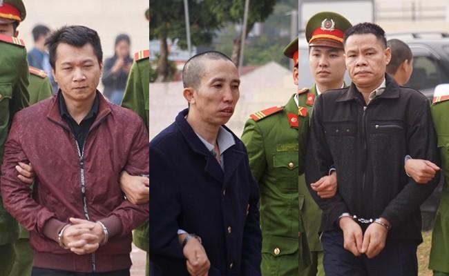 6 bị cáo bị tòa tuyên án tử hình vì phạm cùng lúc nhiều tội1