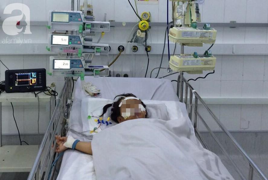 Bé gái nhập viện trong tình trạng nguy kịch sau 3 ngày bị sốt1