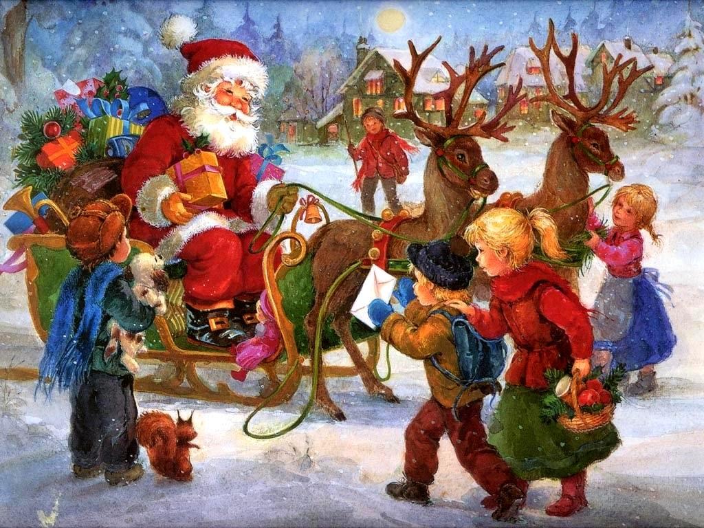 Hình ảnh ông già Noel gắn liền với mùa Giáng Sinh1