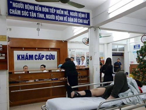 Lượng bệnh nhân cấp cứu do tai nạn giao thông giảm 50%