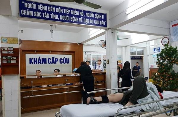 Bệnh viện Việt Đức cũng có lượng bệnh nhân cấp cứu do tai nạn giảm rõ rệt1