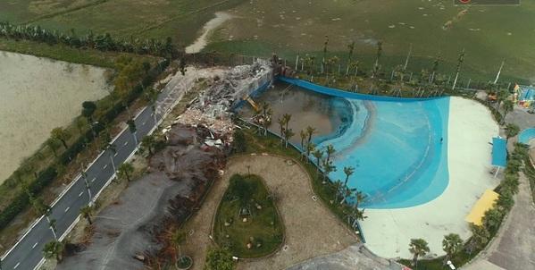 Công viên nước bị phá bỏ do sai phạm trong quá trình hoạt động dẫn tới hậu quả chết người1
