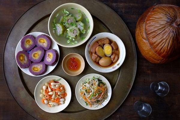 Các món ăn không thể thiếu được trong mâm cơm cúng gia tiên của người Miền Nam trong ngày tết5