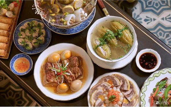 Các món ăn không thể thiếu được trong mâm cơm cúng gia tiên của người Miền Nam trong ngày tết3