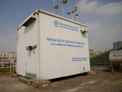 Sắp tới Hà Nội tiến hành lắp thêm 50 trạm quan trắc không khí