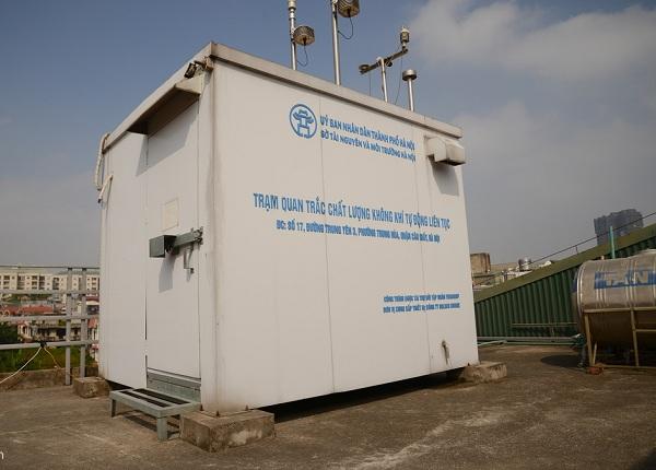 Hà Nội sẽ dựng thêm 50 trạm quan trắc không khí trong thời gian sắp tới1