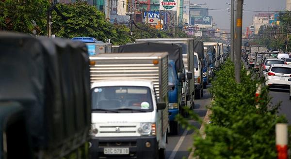Hạn chế xe tải cũng là 1 trong những biện pháp giảm thiểu ô nhiễm1