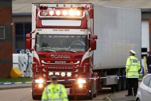 Thông báo nguyên nhân tử vong của 39 người Việt trên Container tại Anh