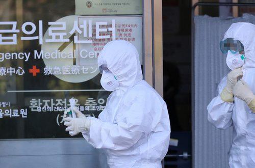 Số ca nhiễm Corona ở Hàn Quốc tăng theo cấp số nhân