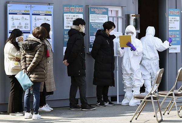 Hàn Quốc đã tìm thấy bệnh nhân số 01